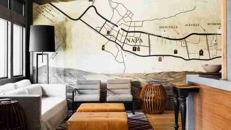 Check in before you check out the next wine tour in Napa. Image courtesy of Andaz Napa.
