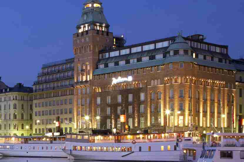 The Radisson Blu Strand Hotel, Stockholm.