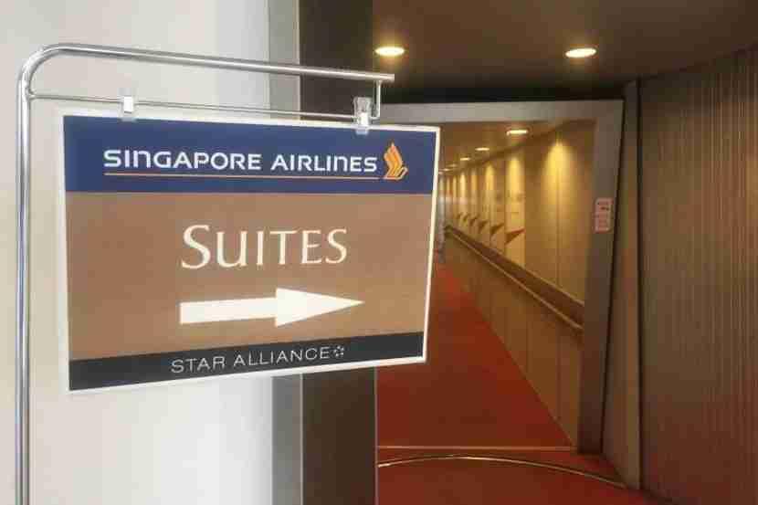 Singapore Suites sign