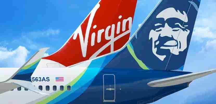 Alaska Airlines recently acquired Virgin America.