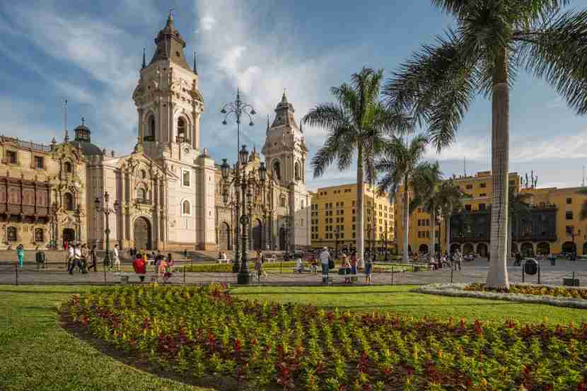 Use points and miles to visit lovely Lima, Peru. (Photo by Getty Images)