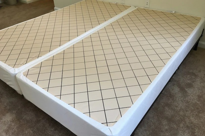 A good box spring can be just as important as the mattress itself, so we went with the Hyatt box spring base.