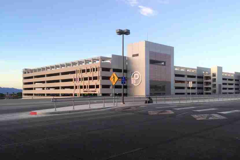 "The ""Uber"" parking garage."