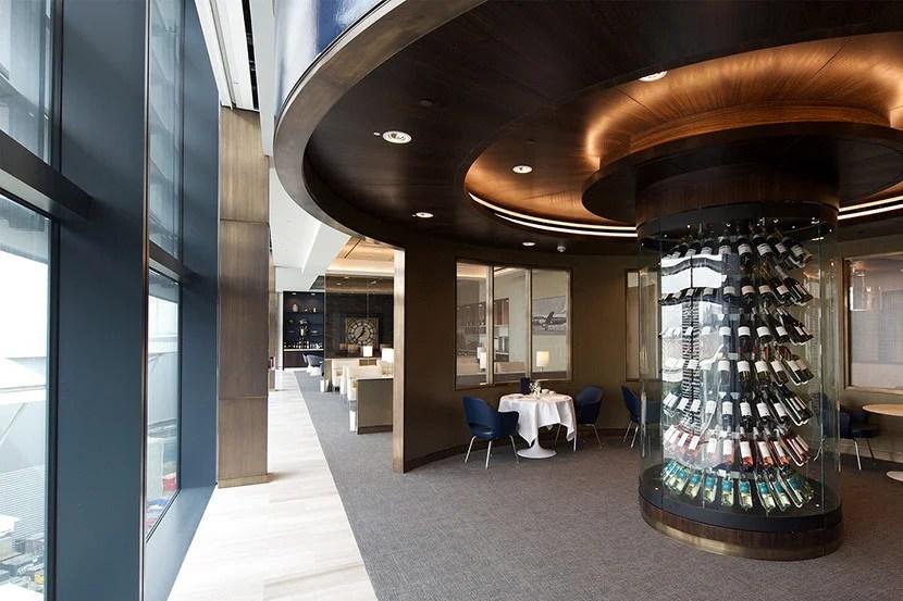 Enjoy Global First Lounge access with an international business-class ticket.