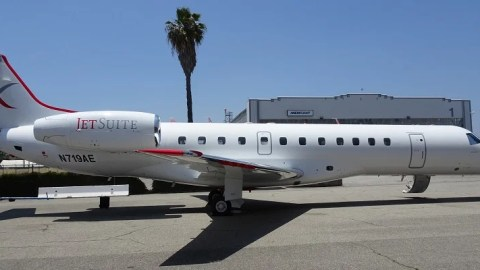 Review: JetSuiteX E135 Economy — Burbank to Las Vegas