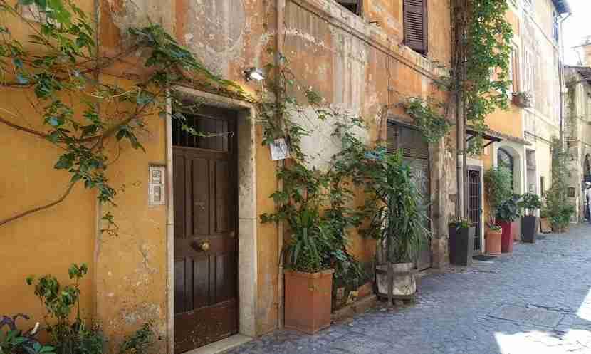 Trastevere is one of Rome