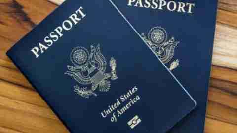 two US passports