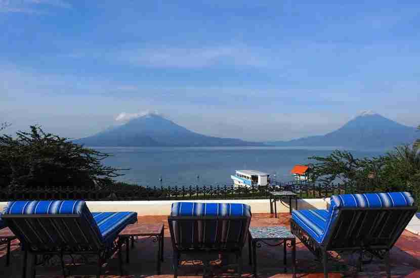 Lake Atitlan is absolutely stunning.