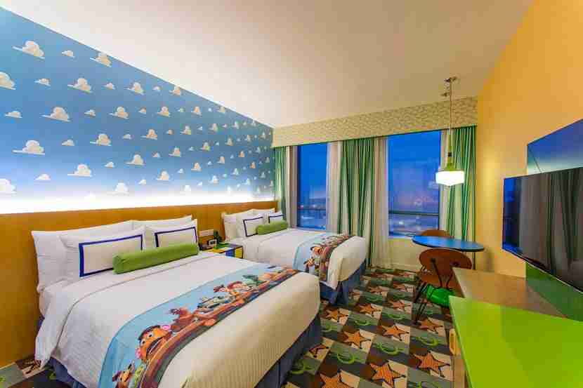 Toy Story Hotel in Shanghai Disney Resort.