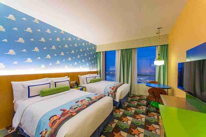 Toy Story Hotel in Shanghai Disney Resort.