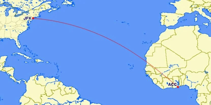 Review Delta One 767 300 From New York To Accra Ghana