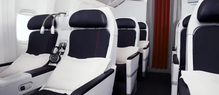 AIr France Premium Economy. Image courtesy of Air France.