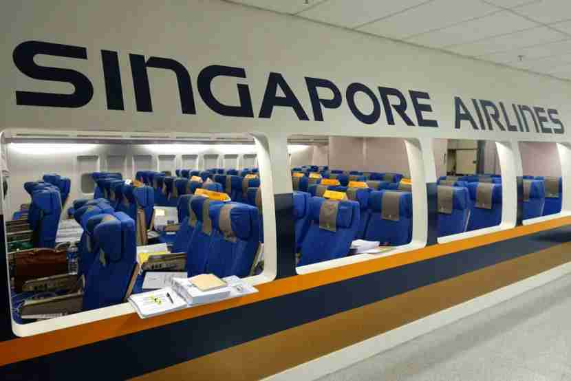 singapore airlines training center