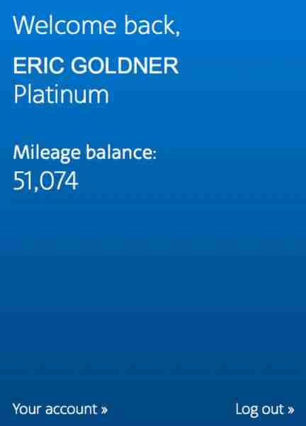 Successfully achieving AA Platinum status was the most rewarding part of this trip.