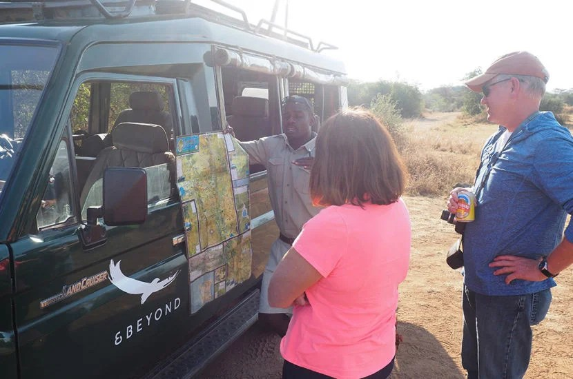 It seemed like Seph, our tour guide, was trying to stall when we got off at the Grumeti Airstrip.