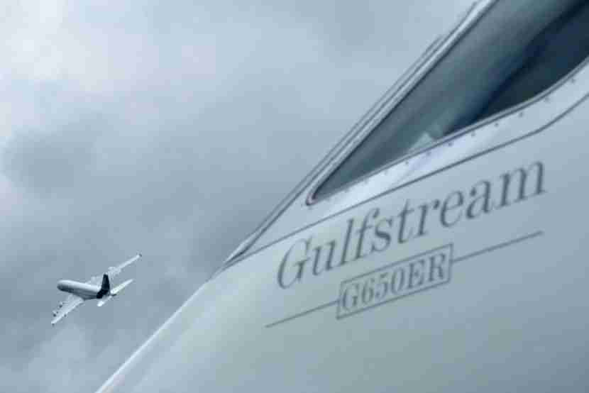 Gulfstream G650 Farnborough