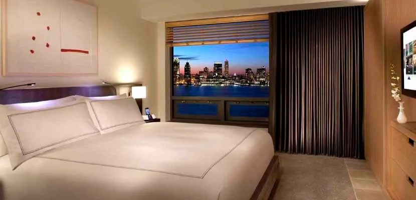 Put all those Hilton free night certificates to use at a property like the Conrad New York.