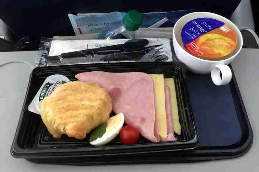 With a free meal in coach on this hour-long BA flight, business class wouldn