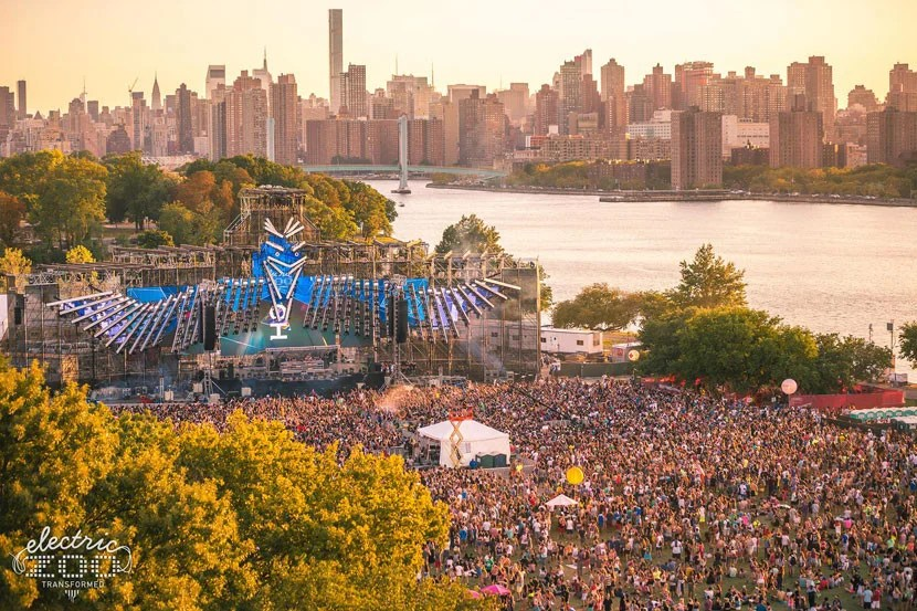Spend Labor Day weekend jamming out to some of the best electronic music in the world. Image courtesy of Electric Zoo's Facebook page.
