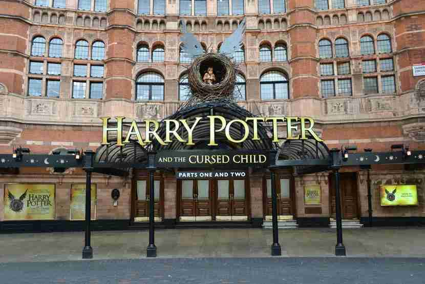 """The chart showing the complicated play schedule. Image courtesy of <a href=""""http://www.shutterstock.com/pic-435946360/stock-photo-front-of-the-palace-theatre-in-london-with-large-advertisement-for-harry-potter-and-the-cursed.html?src=FxSf7JSRbRaaqCdh785qJw-1-0"""" target=""""_blank"""">Shutterstock</a>."""