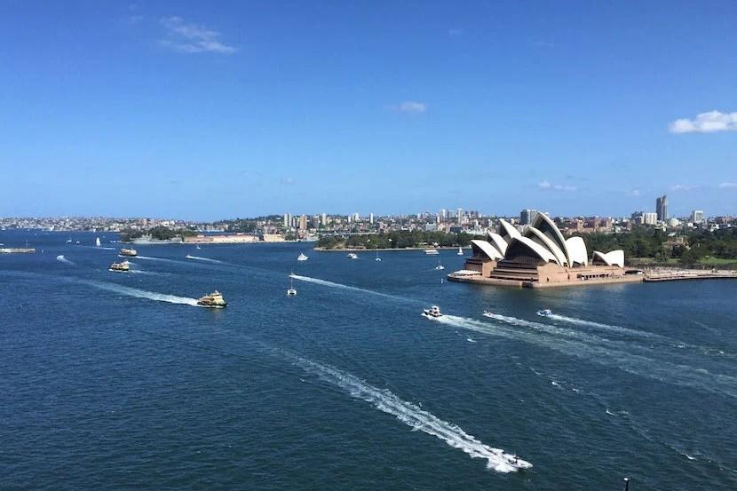 A look at Sydney Harbour and the legendarySydneyOpera House.
