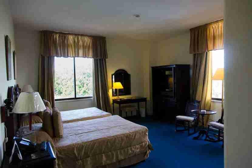 A room at the Hotel Nacional.