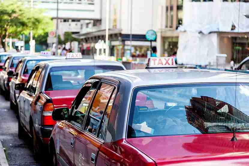 If you do have to take a taxi, always go to a taxi stand. Image courtesy of Shutterstock