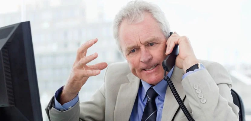 When you do call, be sure to keep your cool. Image courtesy of Shutterstock.