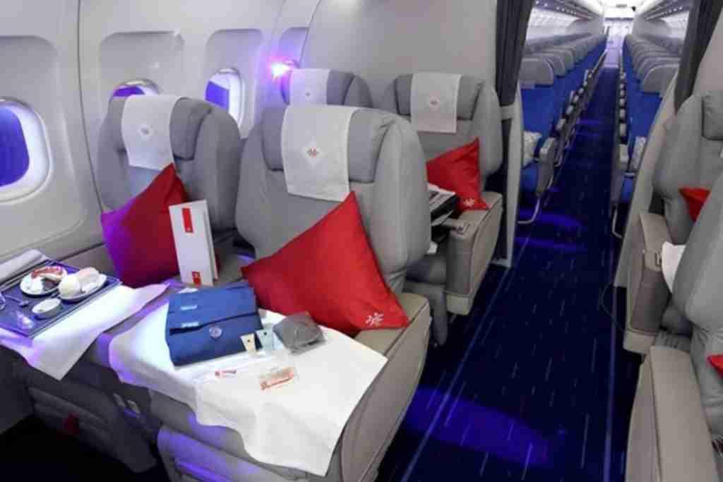 Air Serbia A320 business class