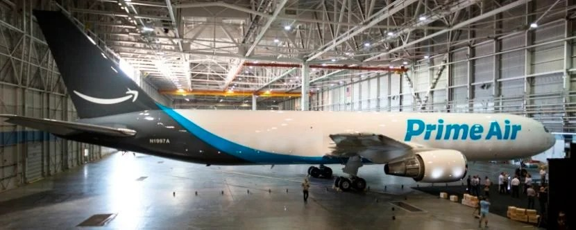 """Prime Air's """"Amazon One"""" was re-registered with a unique tail number."""