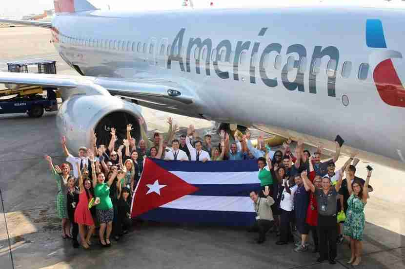 Sadly, some American Airlines crew members are restricted. Image courtesy of American Airlines.