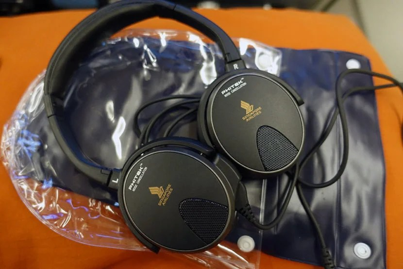 I really enjoyed the noise-cancelling headphones and found them to block out any unwanted noises.