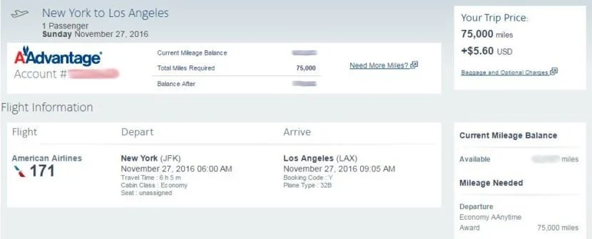 How many miles for a one-way economy flight??