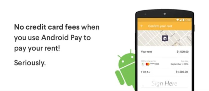 Pay your rent with a credit card and pay no additional fees.