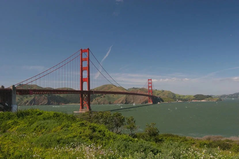 Golden Gate National Recreation Area. Image courtesy of Shutterstock.