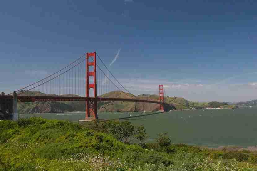 Golden Gate National Recreation Area. Image courtesy of Shutterstock.