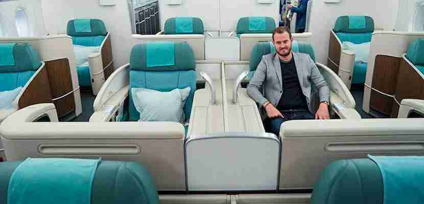 See how TPG scored a first-class trip on Korean Air thanks to the Sapphire Reserve