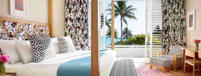 The DVF suite at the One & Only Hayman Island. Photo courtesy of hotel.