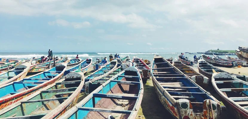 Visiting a fish market on the beach was a unique and memorable experience.