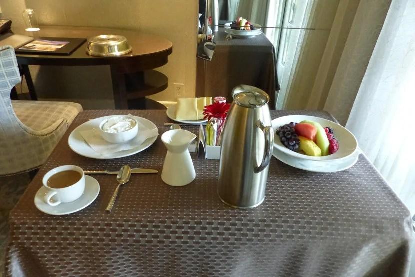 Ritz-Carlton Laguna Niguel room service
