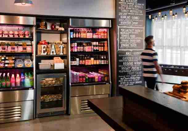 The Moxy New Orleans has plenty of reasonably priced, healthy food options for a traveler on the go. Photo courtesy of Moxy Hotels.