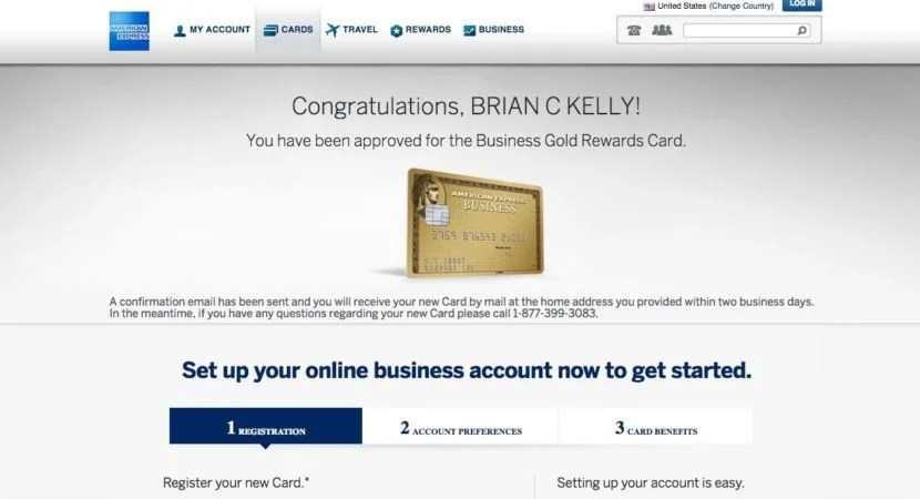Why i put most of my spend on the business gold rewards card screen shot 2016 09 15 at 124600 pm i was instantly approved for my second business gold rewards card colourmoves