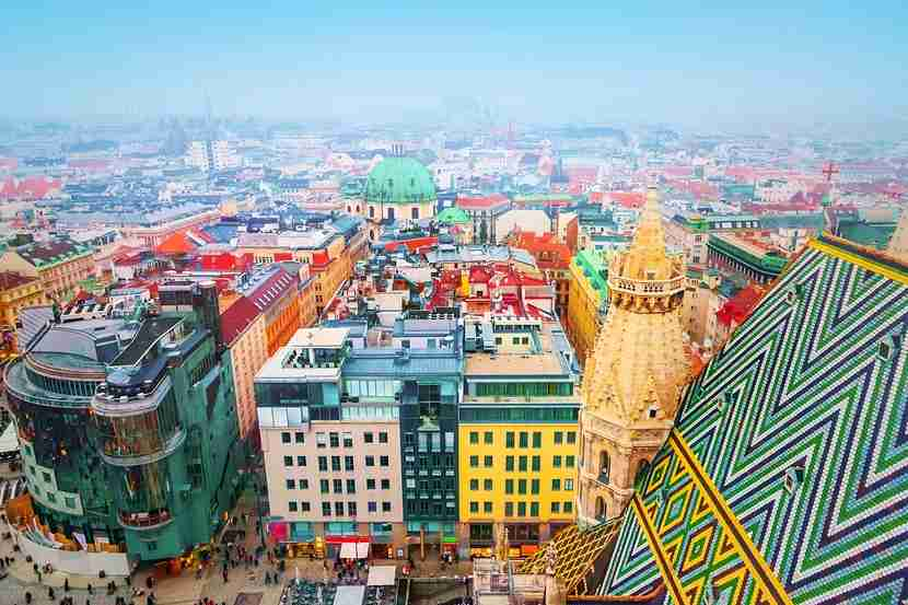 Vienna, the colorful capital of Austria. Photo courtesy of Shutterstock,