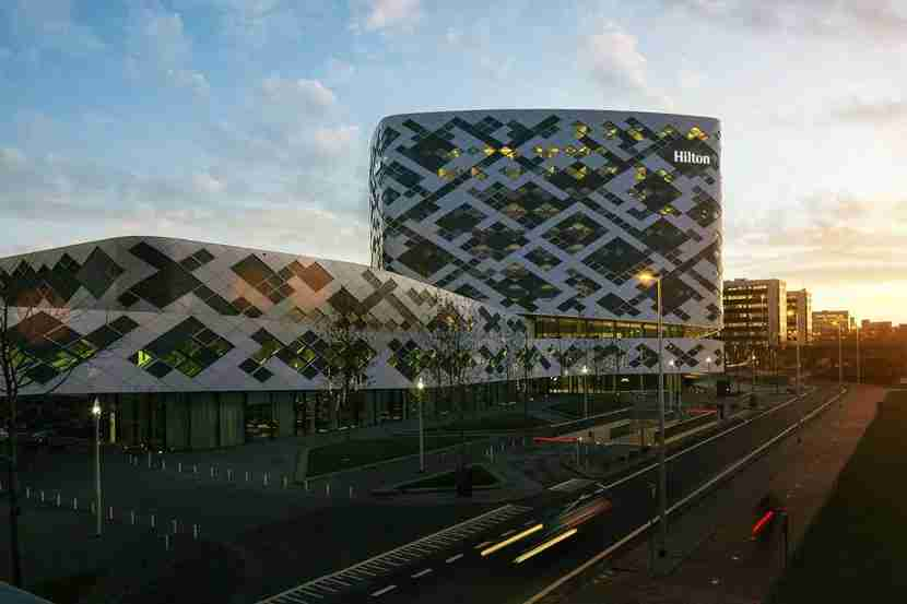 Image courtesy of the Hilton Amsterdam