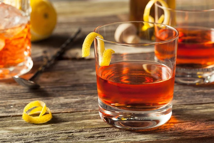 Forget the Hurricanes on Bourbon Street. The Sazerac is the must try cocktail of New Orleans. Image courtesy of Shutterstock.