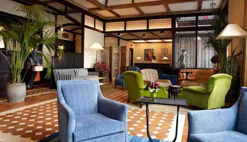Who knew Robert De Niro had such homey tastes? Image courtesy of The Greenwich Hotel/Facebook.