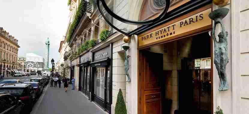 Stay near the Champs-Élysées in Paris at the luxe Park Hyatt Paris-Vendôme. (Image courtesy of hotel