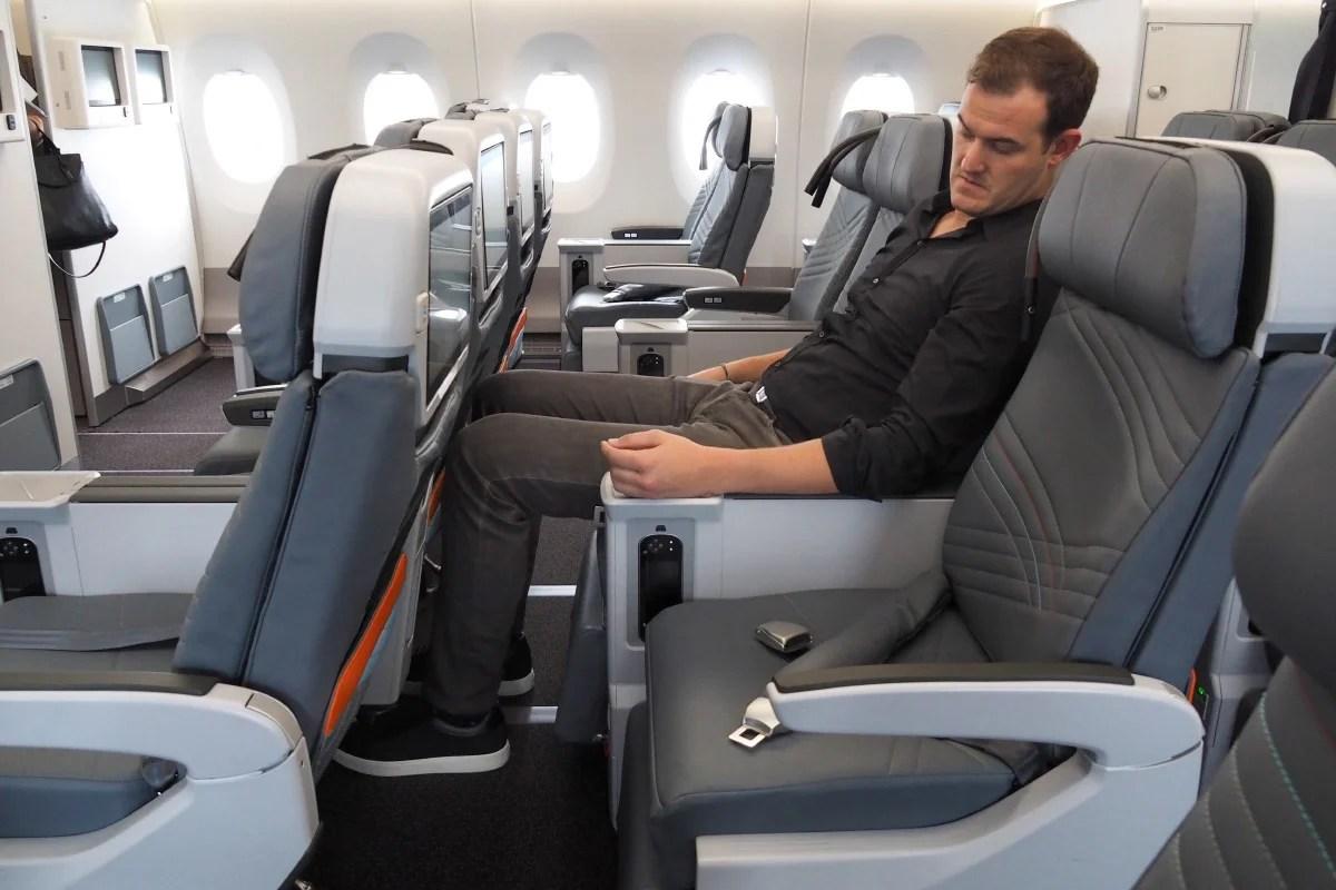 Singapore A350 Tour Premium Economy Brian