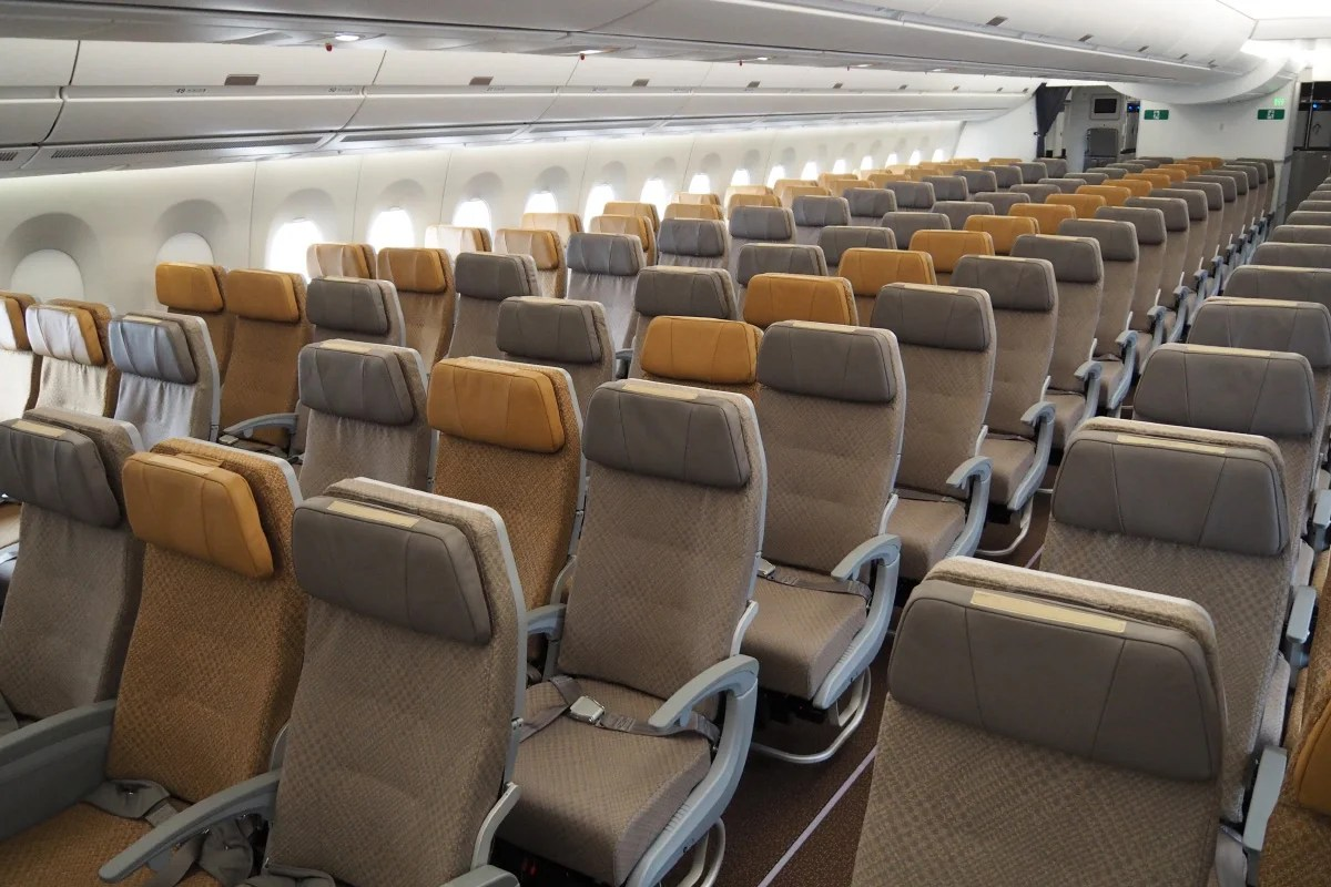 Image result for a350 economy class singapore airlines