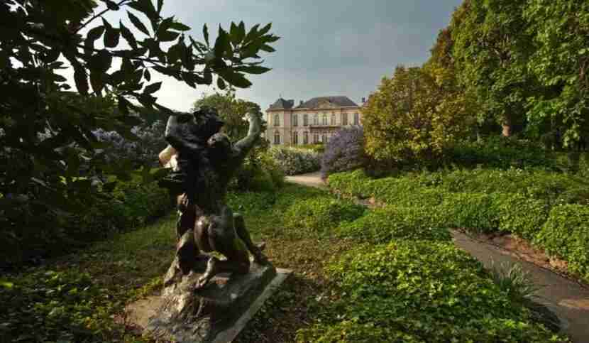 The Rodin Museum and its gardens. Image courtesy of the Rodin Museum.